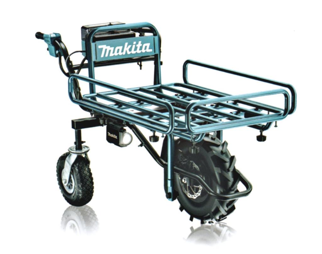 マキタの充電式運搬車