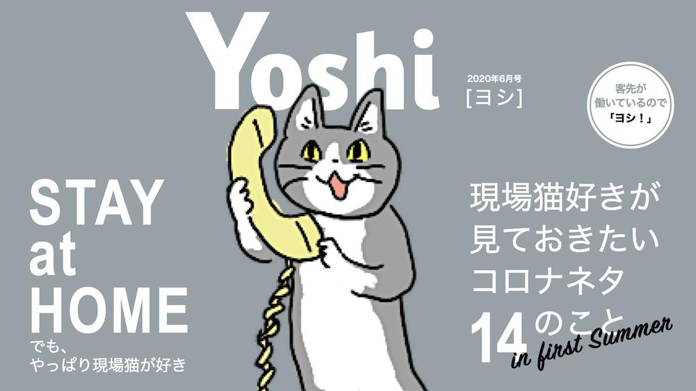 現場猫とコロナ・ヨシ!