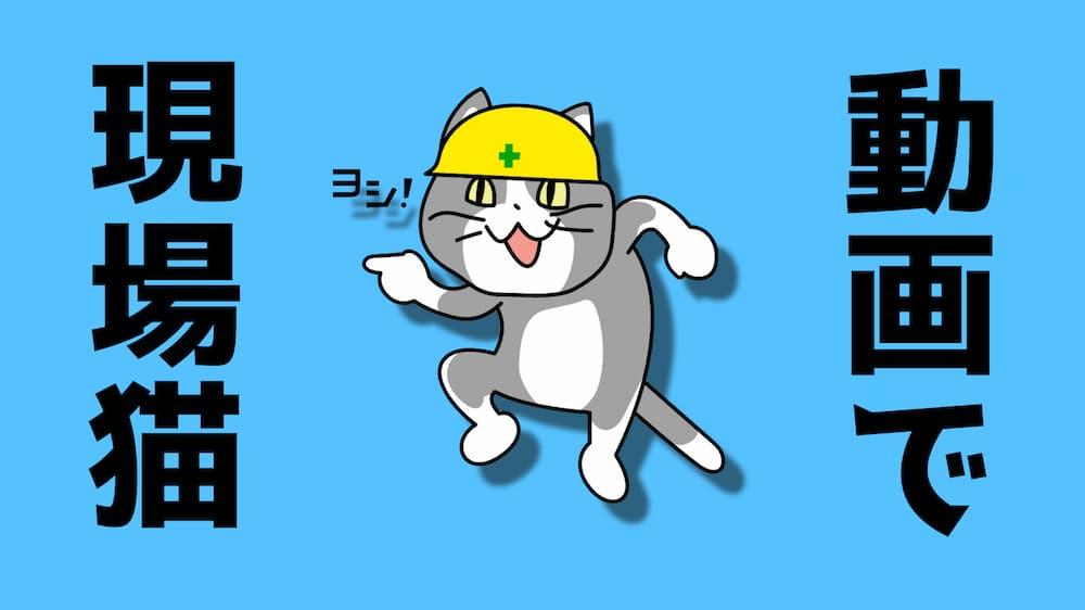動画で現場猫